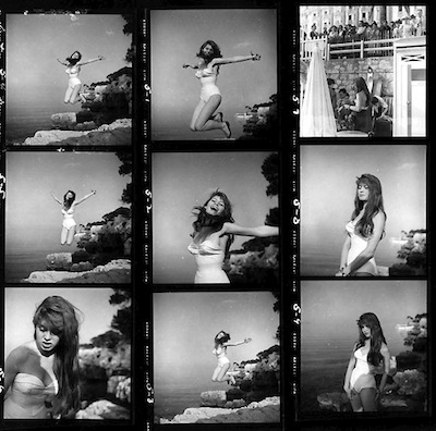 Bridgette Bardot (contact sheet), 1951.jpeg
