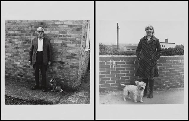 Walking the Dog 1976-9 by Keith Arnatt 1930-2008
