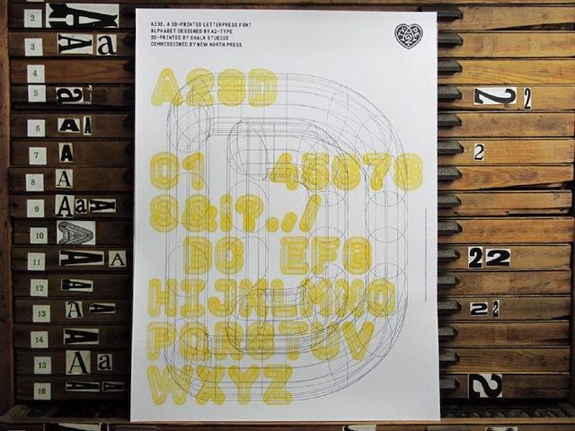 3D-printed Letterpress Font-7