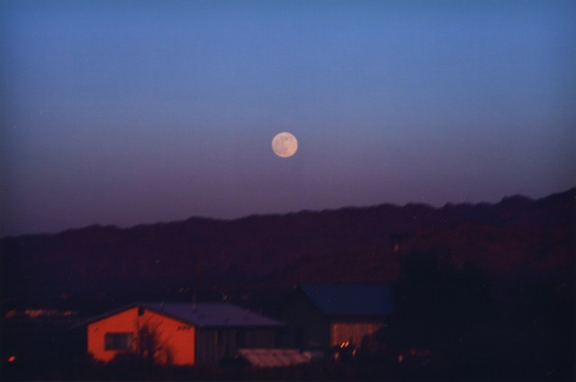 Ken Kitano, Blythe #2, CA, from the series Watching the Moon, 2013, 38 x 52 inch Chromogenic Print