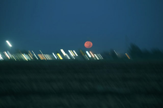 Ken Kitano, Buttonwillow, CA, from the series Watching the Moon, 2013, 20 x 24 inch Chromogenic Print