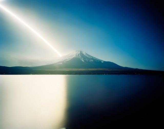 Sunrise to Sunset, Mt. Fuji, Yamanashi, from the series 'One Day,' 2007