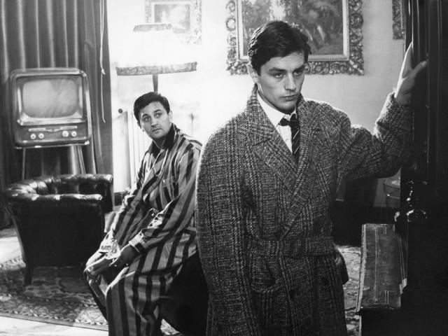 On the set of Rocco e i suoi fratelli