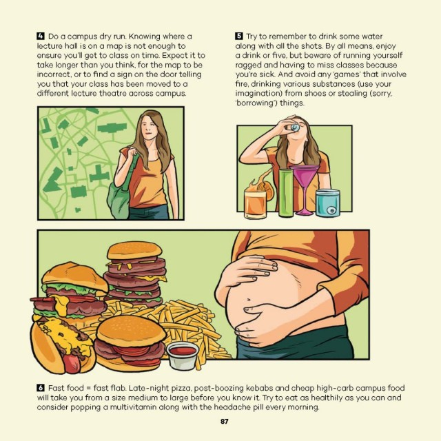 5. How To Survive The First Week Of College 2