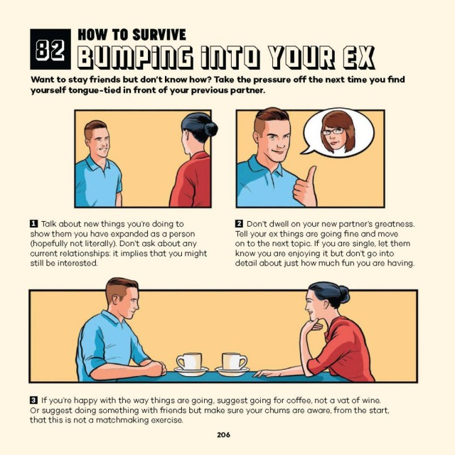 7. How To Survive Bumping Into Your Ex