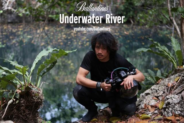 Ballantine's Presents Benjamin Von Wong's Underwater River - Social Promo Image 1